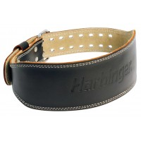 "Harbinger 4"" Padded Leather Belt Harbinger"
