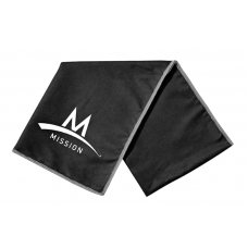 Mission Enduracool Microfiber Large Towel - Black Mission Cooling Towels