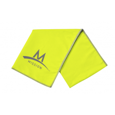 Enduracool Microfiber Large Towel - Hi Vis Green Mission