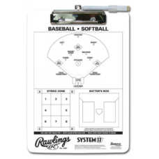 RAWLINGS SYSTEM 17 COACH'S CLIPBOARD Helmets & Accessories