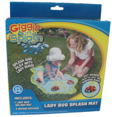 Giggle 'n Splash Lady Bug Splash Mat Wham-O Splash